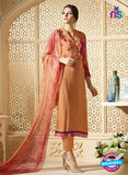 Sahiba 005 Orange Embroidered Georgette Party Wear Suit