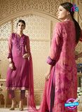 Sahiba 007 Pink Embroidered Georgette Party Wear Suit