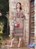 T&M 01 Beige Cotton Satin Exclusive Fancy Designer Straight Plazo Suit