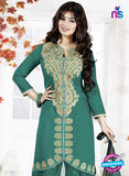 SC 13141 Sea Green Cotton Patiyala Suit