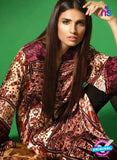 SC 13113 Brown and Pink Satin Silk Party Wear Kurti