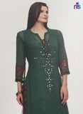 Maple 03  Green Color Georgette Designer Suit