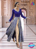 SC 13354 Blue and Golden Exclusive Designer Party Wear Designer Suit