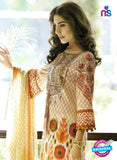 SC 12689 Beige and Multicolor Printed Lawn Suit