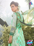 SC 12633 Green and Black Heavy Embroidered Lawn Cotton Pakistani Suit