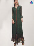 Maple 05  Green Color Georgette Designer Suit