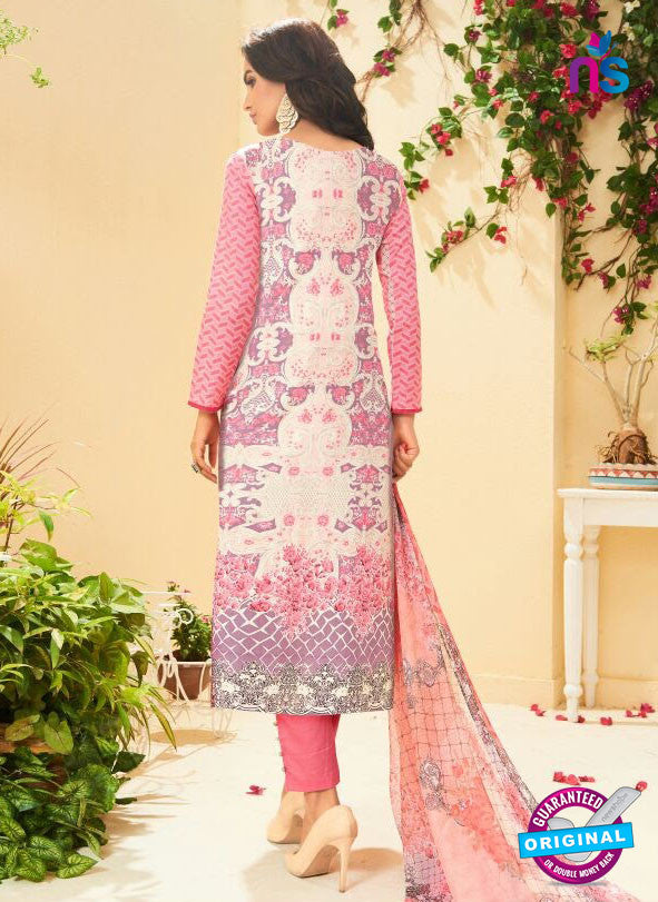 SC 13520 Multicolor and Pink Designer Fancy Cambric Suit