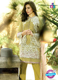 SC 12684 Green and White Printed Lawn Suit