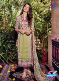 Kashmir Beauty 07 Green and Purple Lawn Cotton Party Wear Suit