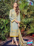 Kashmir Beauty 08 Blue Lawn Cotton Party Wear Suit
