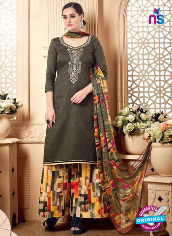 SC 42290 Grey Designer Plazo Suit