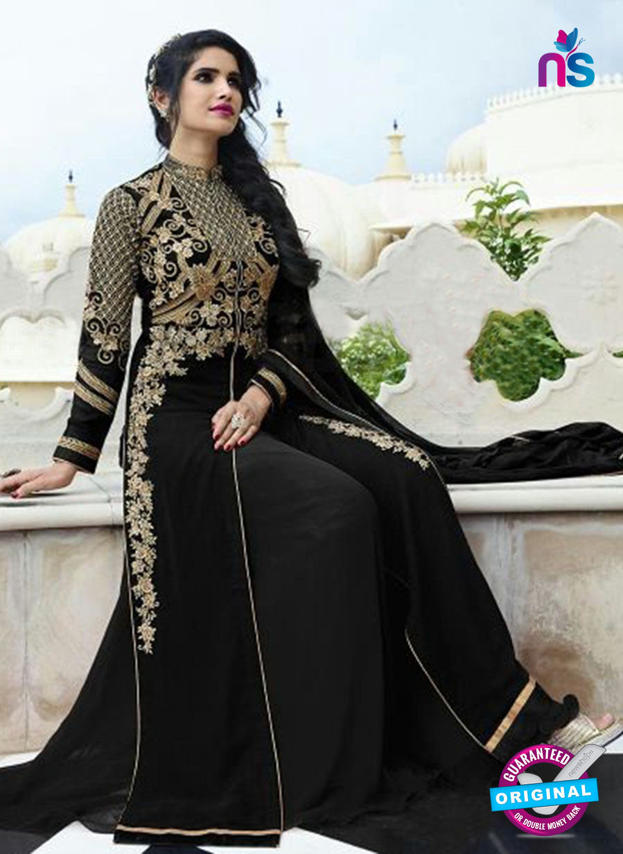 AZ 4010 Black Georgette Party Wear Suit