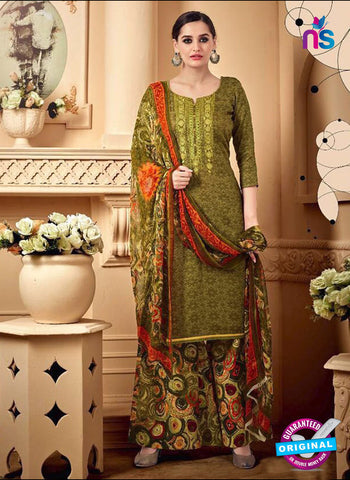 SC 42292 Green Designer Plazo Suit
