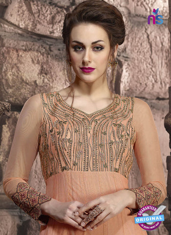 Khwaab 10004 Peach Anarkali Suit