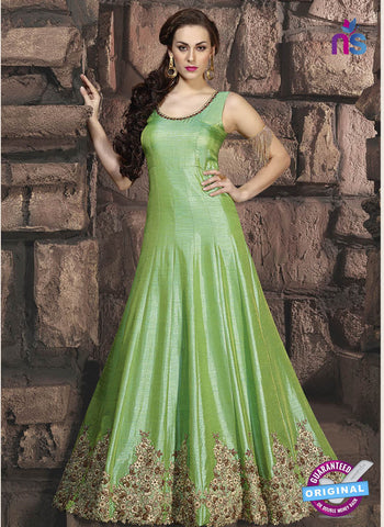 Khwaab 10005 Green Anarkali Suit