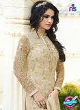 Smile 10005 Beige Georgette Party Wear Suit Online