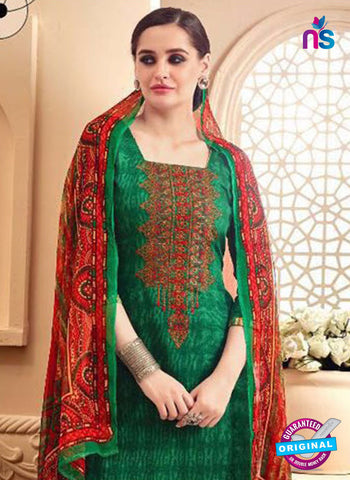 SC 42296 Green Designer Plazo Suit