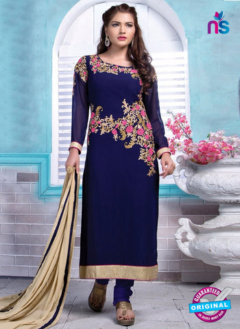 Rinky 1001 Blue Party Wear Suit