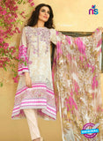SC 13530 Beige and Multicolor Lawn Cotton Designer Traditional Un Stitched Pakistani Suit