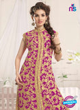 NS10775 d Pink Party Wear Georgette Designer Straight Suit Online