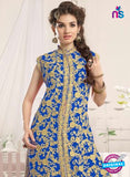 NS10776 e Light Blue Party Wear Georgette Designer Straight Suit Online