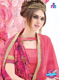 AZ 1099 Pink and Multicolor Georgette Fancy Formal Saree - Sarees - NEW SHOP