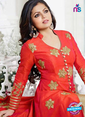 Lt 1002 Red Indo Western Suit
