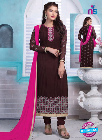 Rinky 1002 Brown Party Wear Suit
