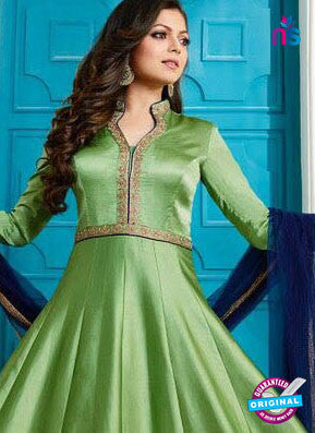 Lt 1003 Green Anarkali Suit