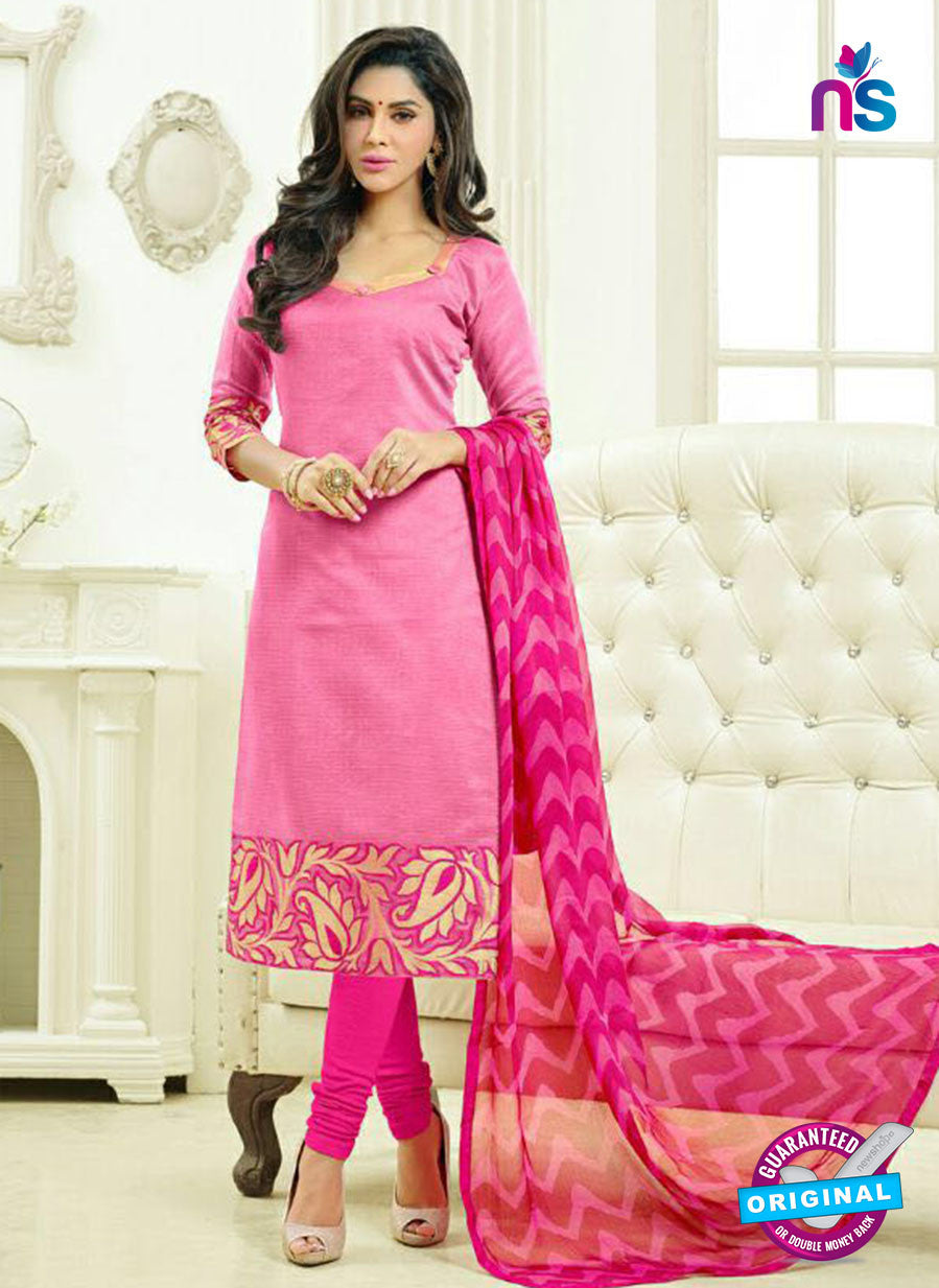SC 13877 Pink Banarasi Jacquard Latest Designer Fancy Straight Suit