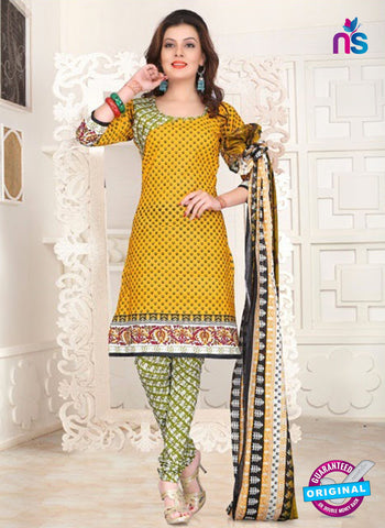 NS12085 Yellow and Green Suit