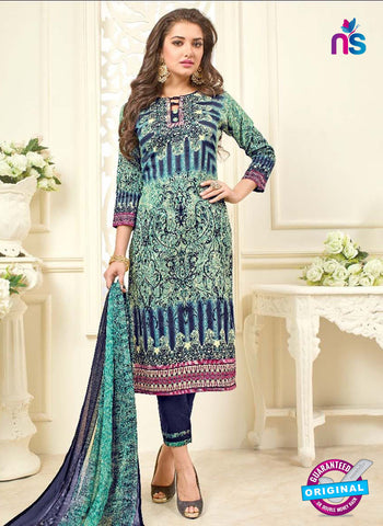 SC 42315 Green Formal Cotton Suit