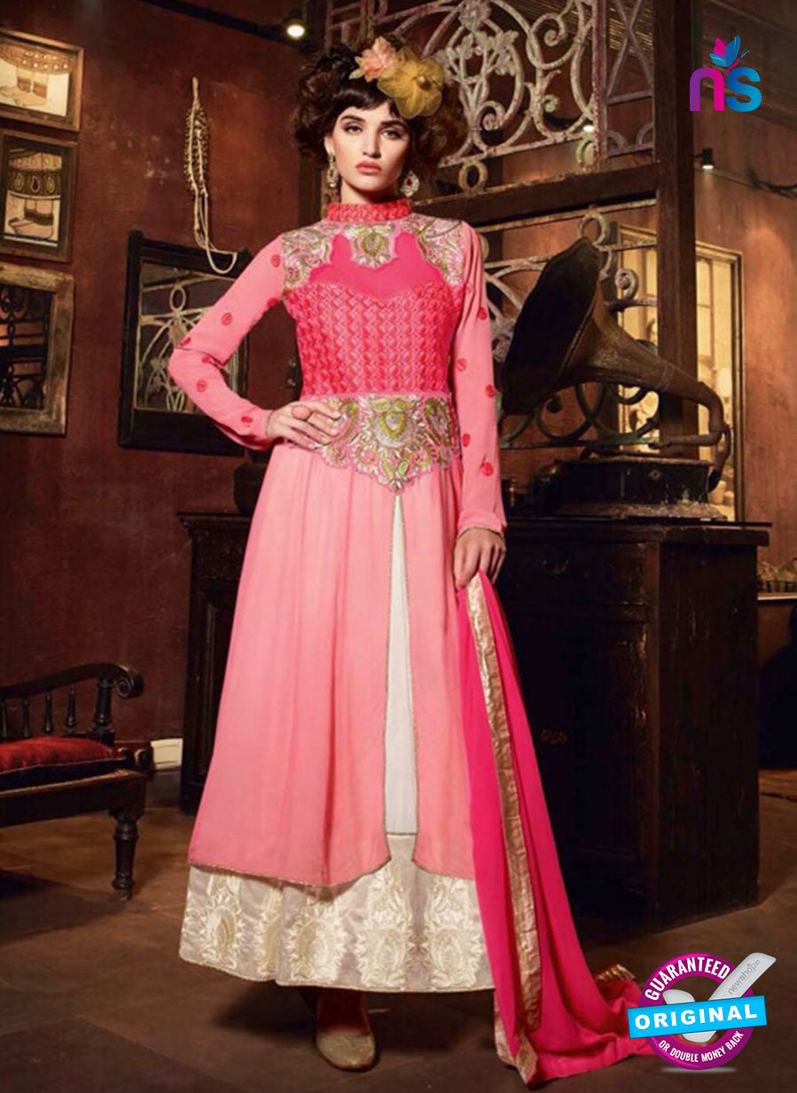 NS12092 Pink and Ivory Designer Suit