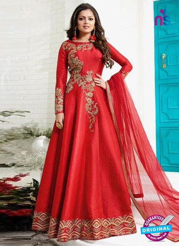 Lt 1004 Red Designer Gown
