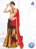 AZ 2001 Red and Multicolor Georgette Fancy Formal Saree