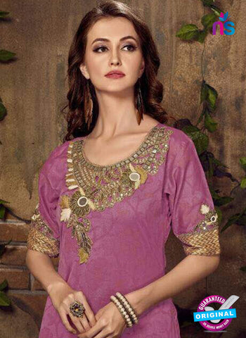 Fashion Beauty 1004 Purple Indo Western Suit