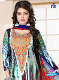 SC 13022 Multicolor and Red Printed Cambic Pakistani Suit Online