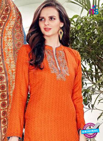 SC 42354 Orange Plazo Suit