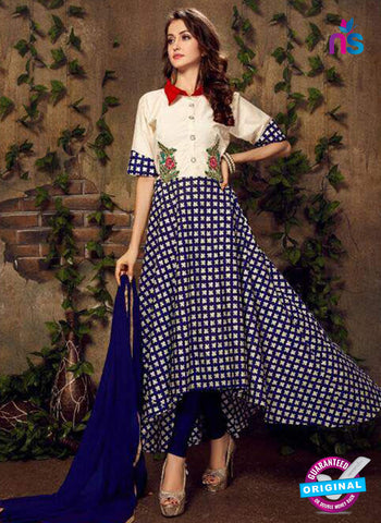 Fashion Beauty 1005 Blue Anarkali Suit