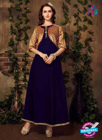 Fashion Beauty 1006 Blue Anarkali Suit