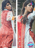SC 13338 Red Cotton Lawn Kurti online