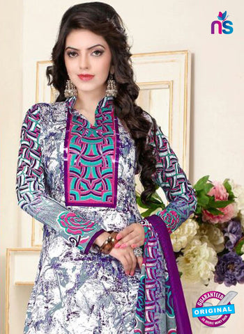 SC 13024 Multicolor and Pink Printed Cambic Pakistani Suit Online