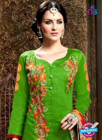 SC 42341 Green Indo Western Suit