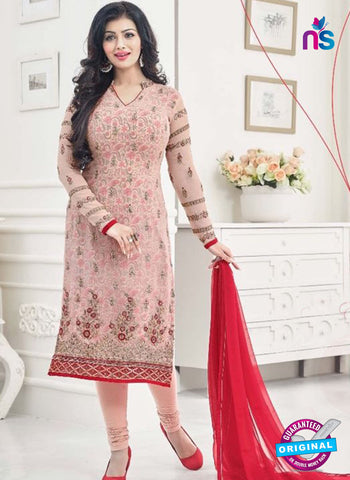 AZ 4068 Pink Georgette Party Wear Suit