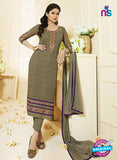 Vivek Fashion 1008 Grey and Purple Georgette Designer Suit
