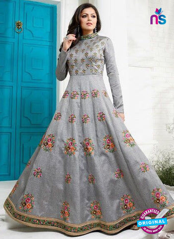 Lt 1008 Grey Designer Gown