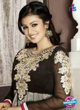 NS10119 Black and Grey Georgette Anarkali Suit
