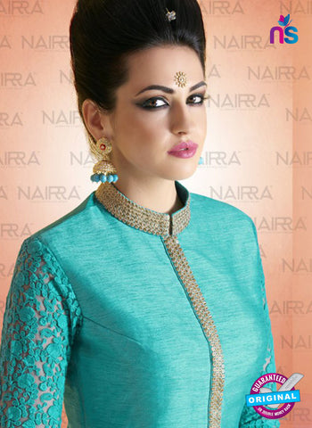 AZ 2116 Sea Green Bhagalpuri Net Party Wear Suit - Salwar Suits - NEW SHOP