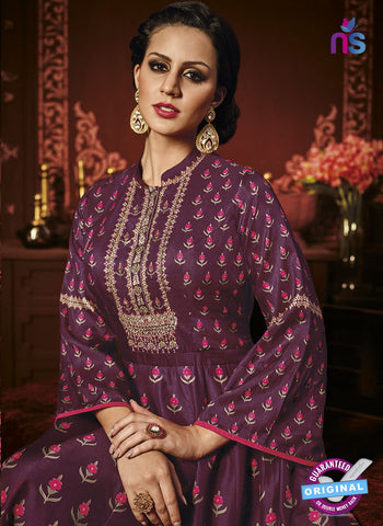 Chahat 10106 Purple Anarkali Suit