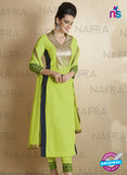 AZ 2121 Green Georgette  Party Wear Suit